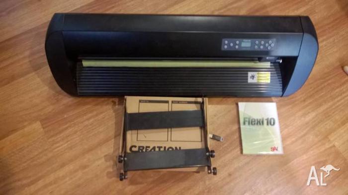 Creation Pcut CR 630 Vinyl Cutter - Flexi 10 Working