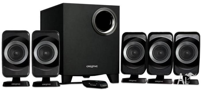 Creative Inspire T6160 5.1 Speakers
