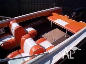 Cruise Craft 17ft Fibreglass Speed Boat Fishing B For Sale In Melbourne Victoria Classified