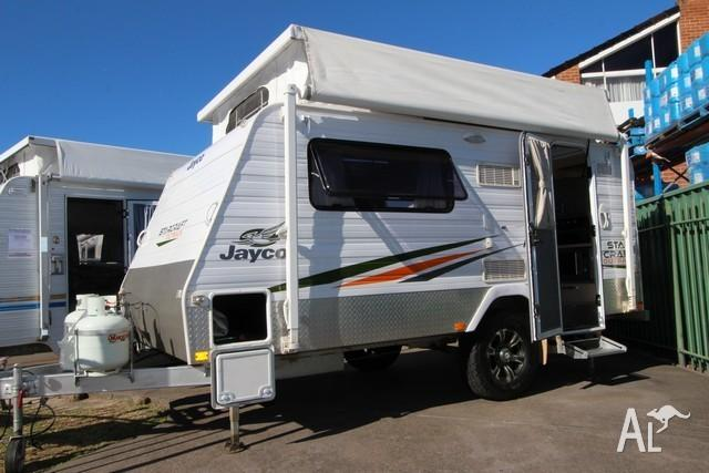 No: CU298 Jayco 13ft Starcraft Pop-Top Single Beds for Sale in EMU