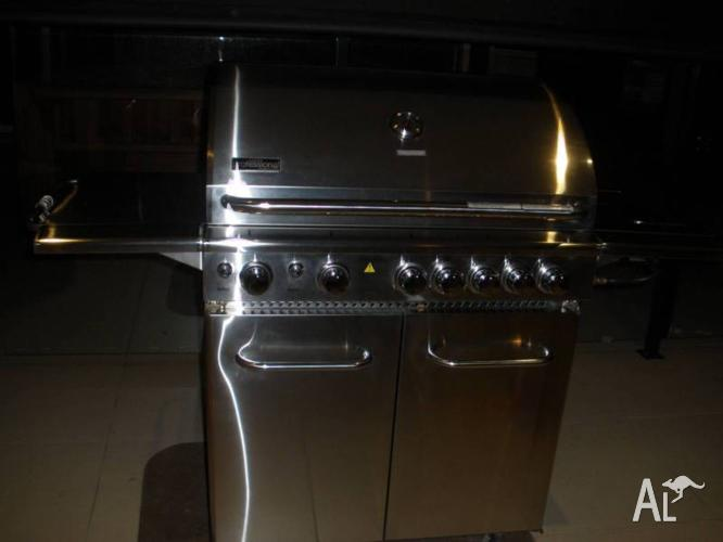 Cucina Professional 5 Burner BBQ - All Stainless Steel