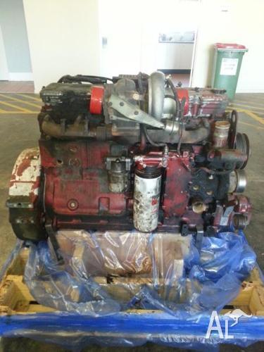 Cummins engine.