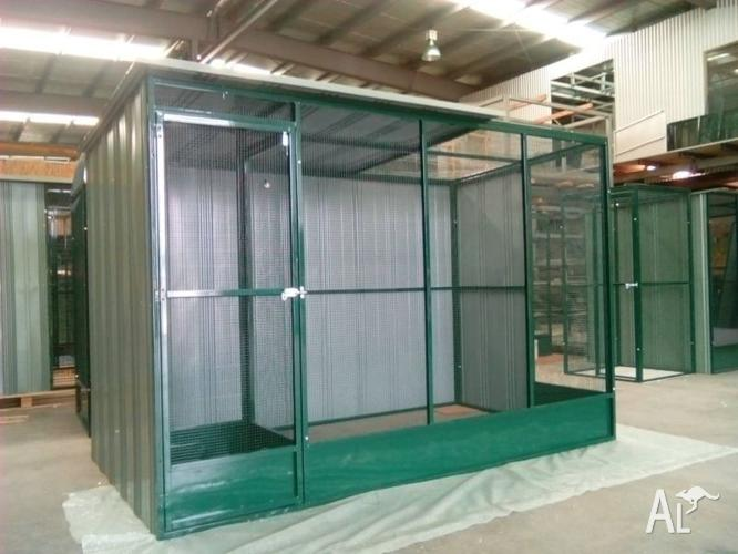 Custom Made Bird aviaries .Bird cages—sale