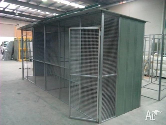 Custom Made Cat Enclosures