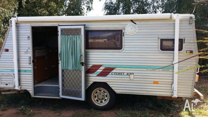 cygnet pop top caravan