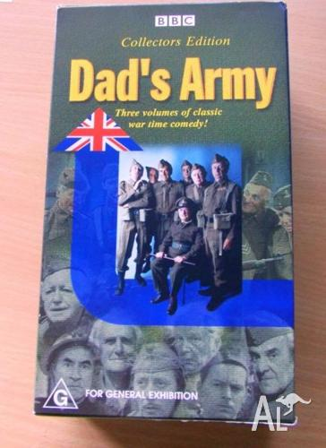 Dad's Army Collector Edition (War Comedy) x3 VHS RARE!