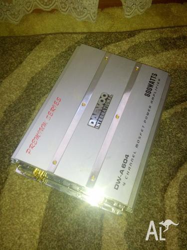 Daewoo Car Amplifier 800w