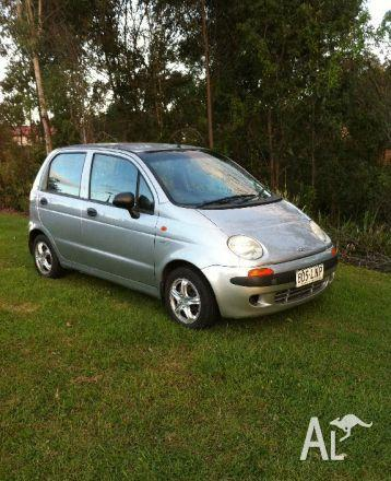 daewoo matiz 2001 for sale in upper coomera queensland classified. Black Bedroom Furniture Sets. Home Design Ideas