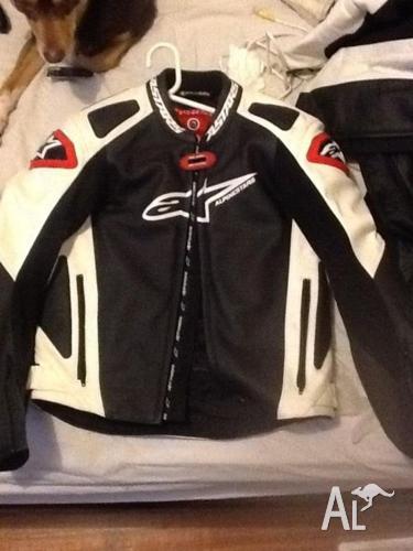Dainese & alpine motorbike jacket
