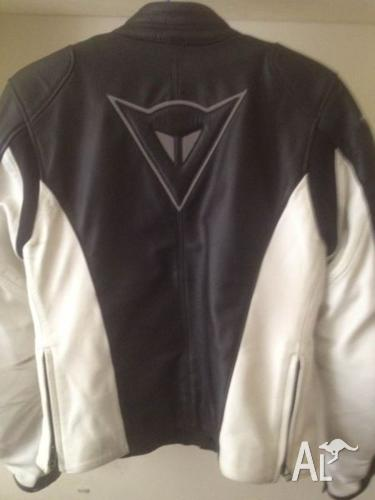 Dainese motorbike jacket and boots