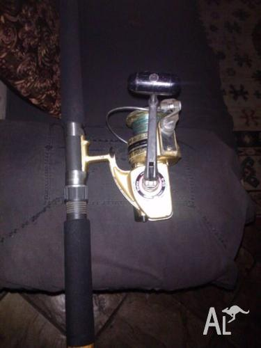 Daiwa GS9 Reel / Jarvis Walker National Series Surf