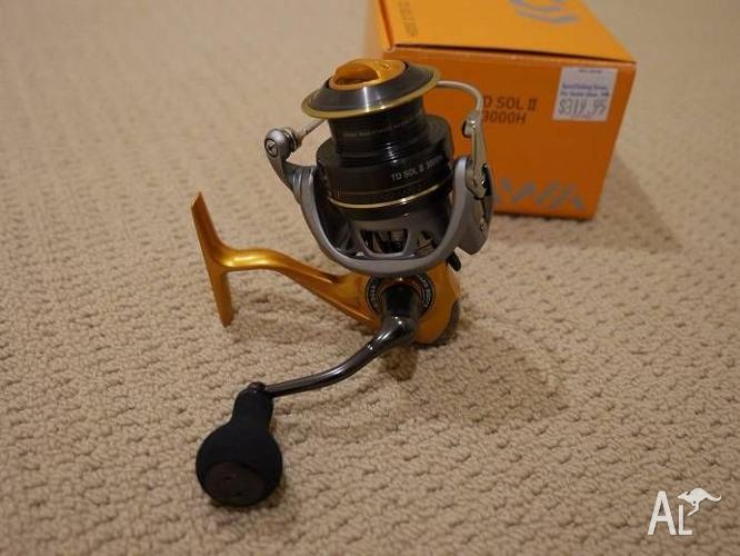 Daiwa TD SOL II 3000H - mint condition