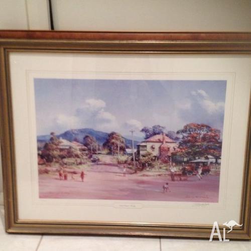 Darcy Doyle limited edition framed print