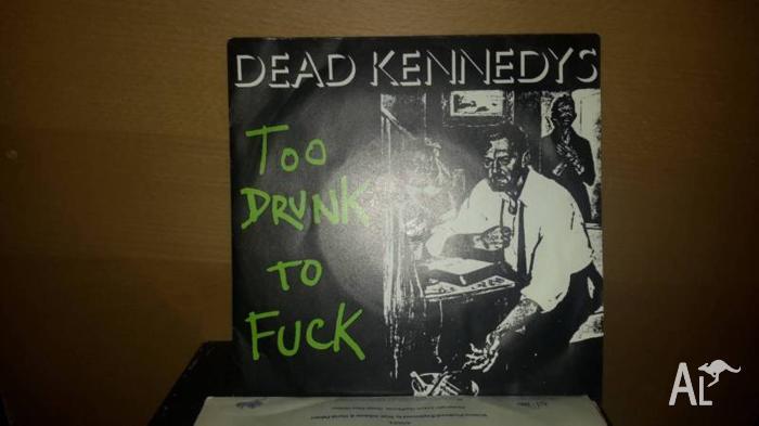 Dead Kennedys 45 single