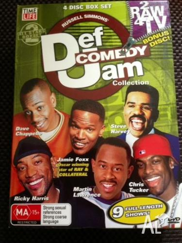 Def Comedy Jam Collection 4-DVD Box set - a rare find!