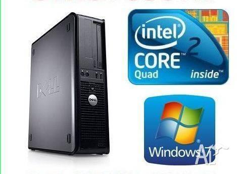 DELL Desktop PC Core 2 Quad Q6600 @ 4X2.40 GHZ, 2G, 160