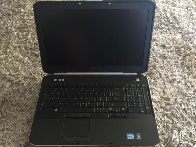 Dell Latitude E5520 laptop, i5 4gb ram