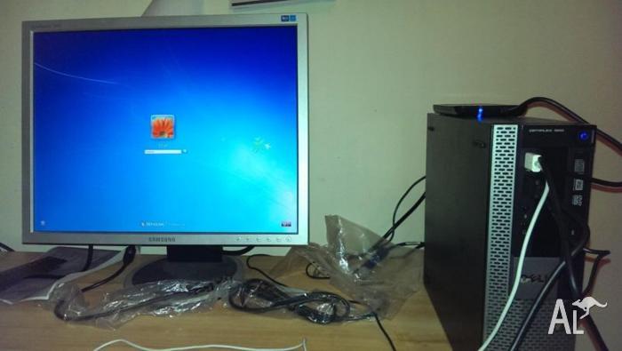 dell optiplex 980 + samsung lcd monitor