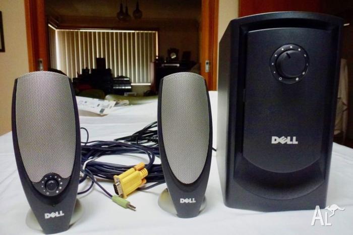 DELL/ ZYLUX MULTI MEDIA COMPUTER SPEAKER SYSTEM