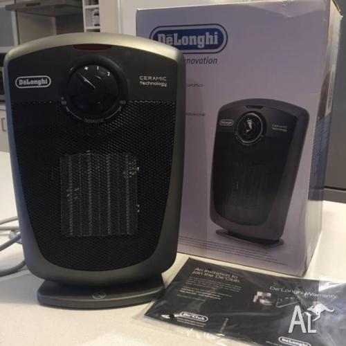 DeLonghi Ceramic 1800w fan heater DCH3030