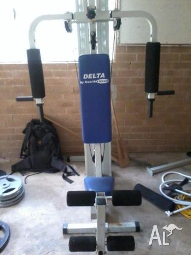 Healthstream delta home gym manual