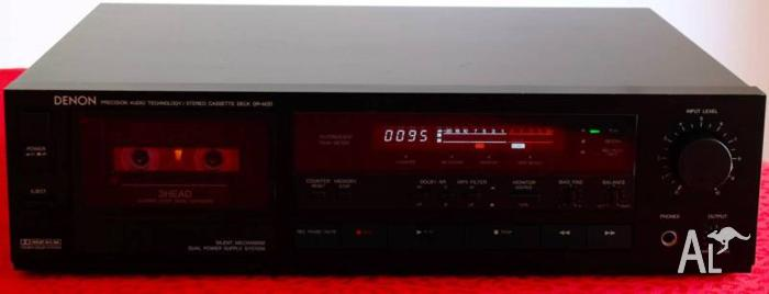 Denon DR-M20 Dual Capstan 3 Head Stereo Cassette/Tape