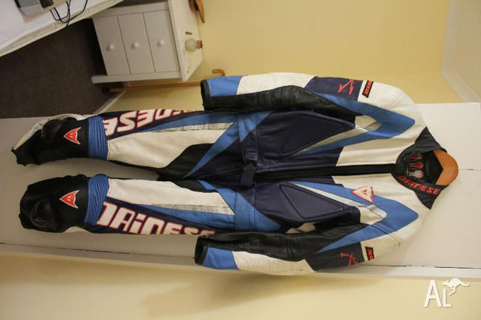 Dianese 2 piece motorcycle leathers