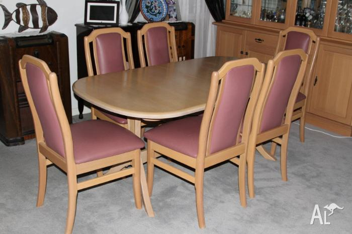 dining table chairs for sale in ellen grove queensland classified