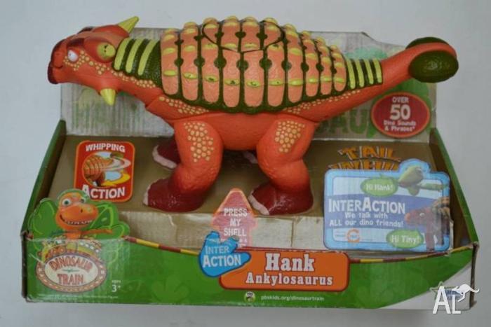 Dinosaur Train Interaction Hank talking Ankylosaurus
