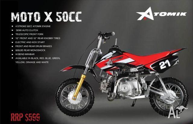 DIRT BIKE ATOMIK MOTOX 50cc  2011