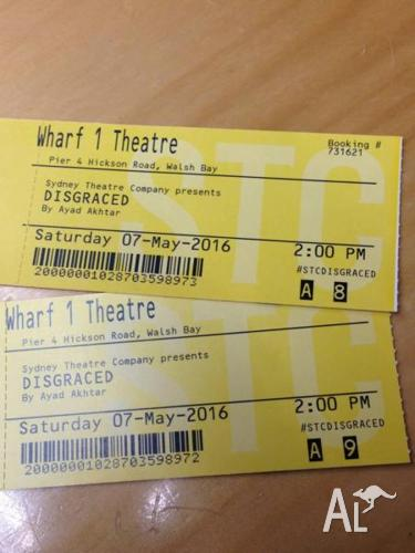 Disgraced - Sydney Theatre Company - Matinee 7 May 2016