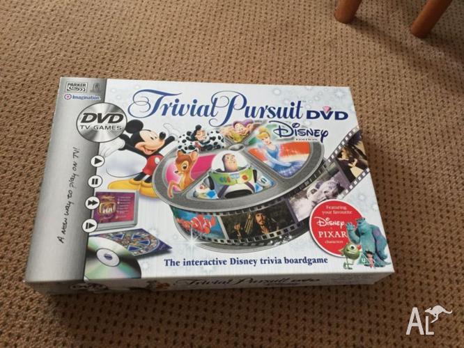 Disney trivia pursuit DVD edition!!