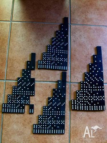 Dominoes - 3 Sets [1 Lion Brand] + Spares Set