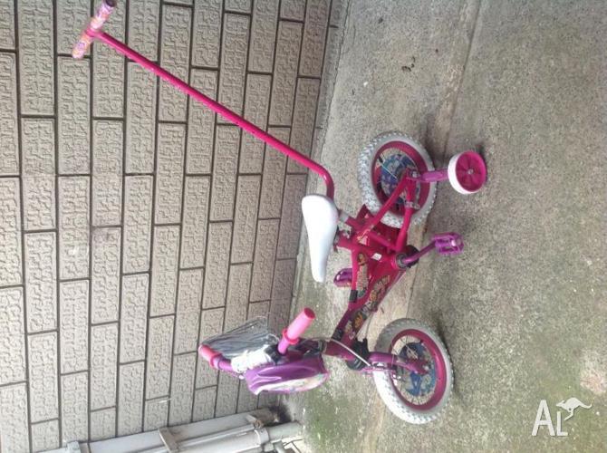 Dora bike like new always stored in shed