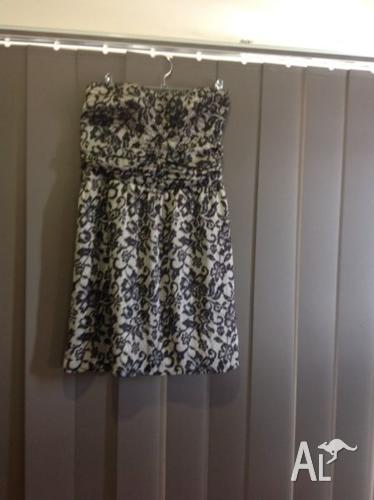 Dotti brand strapless dress size 10
