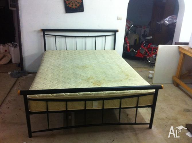 Double Bed Black Gothic Frame For Sale In St Ives New South Wales
