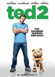 Double Movie Pass for TED 2 * FREE SHIP*