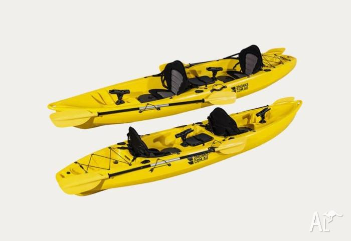 Double Sit-On Fishing Kayak 3.8M incl Rod Holders 2