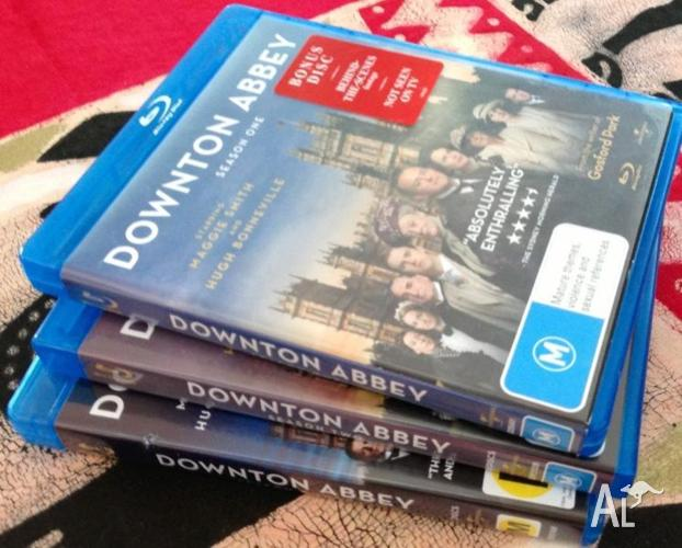Downton Abbey Series 1 2 & 3 as new!