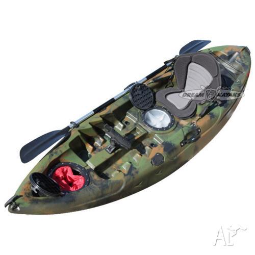 Dream Catcher 3 Fishing Kayak BRAND NEW Legendary