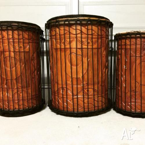 Drums for sale dundun set brand new handmade