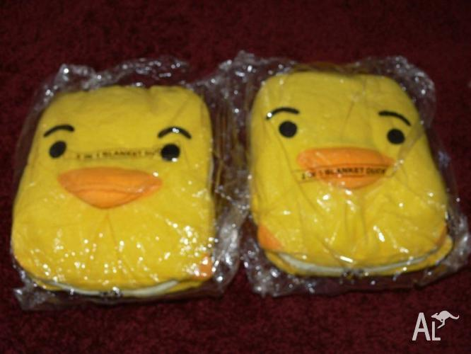 DUCKY BABY BLANKETS - NEW