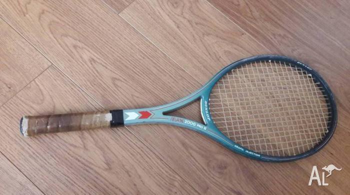 Dunlop 200G MAX Pro II vintage tennis racquet