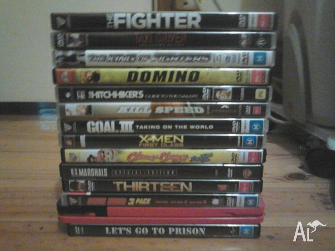 dvd movies x 13