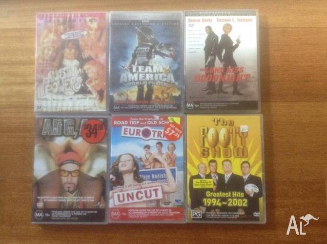 DVDs all original