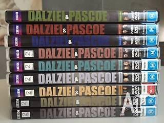 DVDs - Daziel & Pascoe Series 1 to 9
