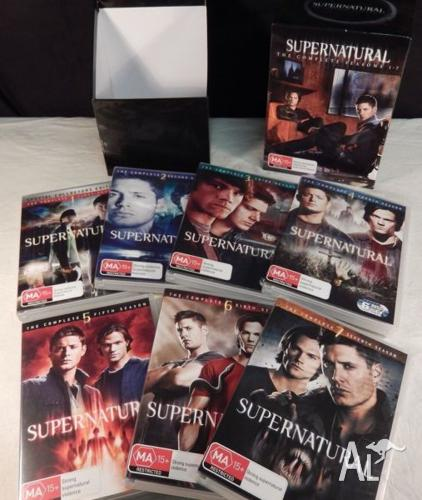 Dvds - SUPERNATURAL Seasons 1 to 7