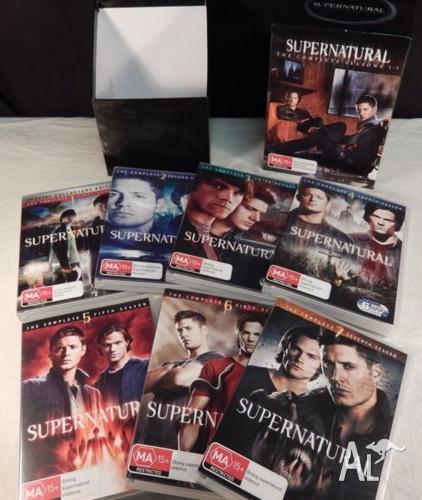 Dvds - SUPERNATURAL Seasons 1 to 7