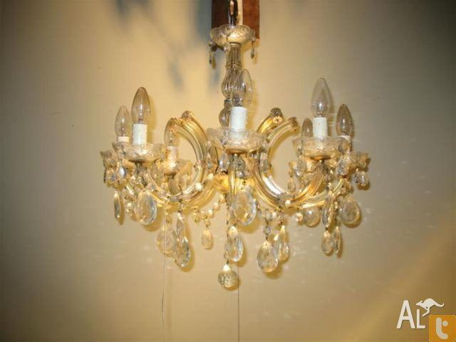 Eight Arm Chandelier Light