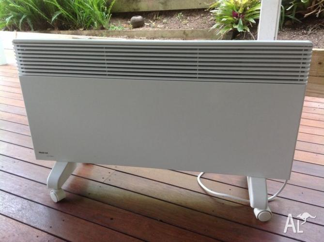 Electric convection panel heater